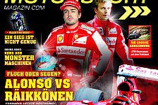 Formel 1 - Alonso vs. R�ikk�nen: Jetzt im Handel: Motorsport-Magazin #33