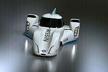 24 h von Le Mans - Krumm begeistert bei Premiere im Elektro-Prototypen: Nissan ZEOD RC absolviert Jungfernfahrt am Fuji