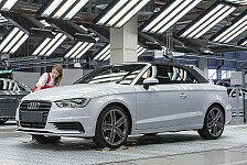 Auto - A3-Modell als Highlight im Kompaktsegment: Produktionsstart f�r neues Audi A3 Cabriolet
