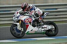 Superbike - Fabrizio verhindert Nullnummer: Pata Honda: Entt�uschender Saisonabschluss