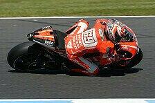 MotoGP - Regen als klarer Vorteil: Hayden sensationell in Reihe eins