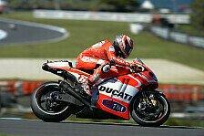 MotoGP - Dovizioso hat Abstimmungsprobleme: Hayden punktet mit guter Strategie