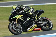 MotoGP - Smith nur knapp hinter dem Teamkollegen: Crutchlow mit Bremsproblemen