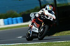 Moto2 - Nur auf nasser Fahrbahn gut: Schr�tter: Kein Gef�hl im Trockenen