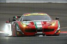 WEC - Calado und Bird testen Ferrari 458: AF Corse: Fahrercasting in Frankreich
