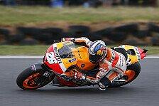 MotoGP - Platz vier f�r den Vorjahressieger: Pedrosa von den Reifen ausgebremst