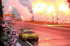 DTM - Fast ein Schritt zu weit: Glock widmet Sieg verstorbenen Rennfahrern