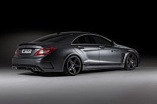 Auto - Eleganter Muskelprotz: Prior zeigt den Mercedes CLS PD550 Black Edition