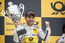 DTM - Starkes Rennen gezeigt: Video: Glock feiert ersten Sieg