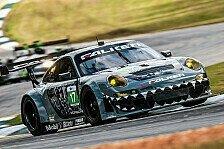 USCC - Gem�tlich wie feuchter Rennoverall: Falken-Porsche siegt beim Petit Le Mans