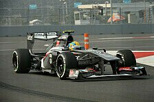 Formel 1 - Misslungenes Timing verhindert Top-10-Resultat: Gutierrez schon wieder gl�cklos im Qualifying