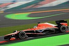 Formel 1 - Ein paar brenzlige Momente: Chilton: Kein Platz f�r Fehler