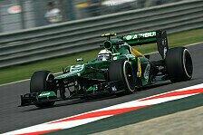 Formel 1 - Pic findet Verbesserungen: Setup-T�ftelei bei Caterham