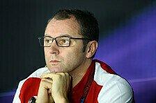 Formel 1 - Nicht vergessen, wof�r Ferrari steht: Domenicali stellt klar: Stehen unter Druck