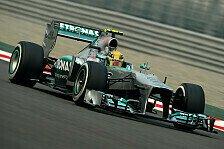 Formel 1 - Podium im Visier: Hamilton arbeitet auf gutes Qualifying hin