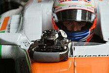 Formel 1 - Punkte als erkl�rtes Ziel: Leichter Aufwind bei Force India