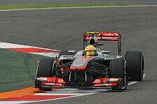 Formel 1 - Sensationelles Man�ver gegen zwei Weltmeister: Perez: Endlich ein Rennen ohne Pech