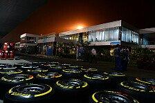 Formel 1 - Bilderserie: Die Reifen in Abu Dhabi