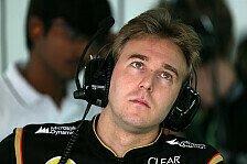 Formel 1 - Marco S�rensen wohl neuer Ersatzfahrer: Valsecchi bei Lotus raus?