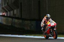 MotoGP - Probleme am Kurvenausgang: Pedrosa konnte nicht mithalten