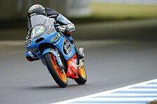 Moto3 - Salom und Rins vertagen WM-Entscheidung mit St�rzen: Marquez holt ersten Sieg