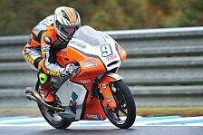 Moto3 - 21. Platz f�r Finsterbusch in Motegi: Knapp an den Top-20 vorbei
