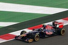 Formel 1 - Ricciardo mit P10 zufrieden: Gemischte Gef�hle bei Toro Rosso