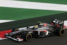 Formel 1 - Indien kein Drama: Sauber: Aufw�rtstrend nicht gestoppt