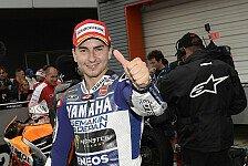 MotoGP - 200. Yamaha-Sieg auf Honda-Strecke: Lorenzo: Wollte den Sieg unbedingt