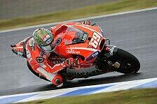 MotoGP - Ducati-interner Kampf auch in Motegi: Hayden ringt Dovizioso in letzter Runde nieder
