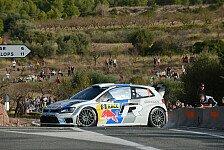 WRC - Volkswagen Weltmeister: Spanien: Ogier gewinnt nach Aufholjagd
