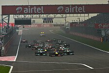 Formel 1 - Verl�ngerung um f�nf Jahre?: Ecclestone �ber Indien GP: Die T�r ist offen