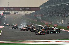 Formel 1 - Indien GP: Warten auf die Regierung