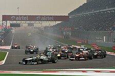 Formel 1 - �nderungen f�r 2014 und 2015: Neue Regeln: Reifenw�rmer-Verbot ab 2015