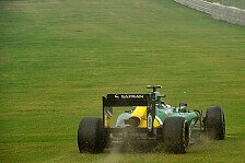 Formel 1 - Brauchen nur etwas Gl�ck: Caterham Vorschau: Abu Dhabi GP