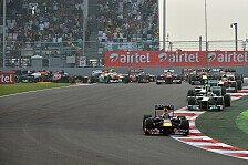 Formel 1 - Von 22 auf 20 Rennen: Rennkalender 2014: New Jersey und Mexiko raus