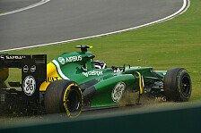 Formel 1 - Kein Fahrer sieht die Zielflagge: Caterham: Ein Rennen zum Vergessen