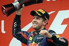 Sebastian Vettel: Seine besten Formel-1-Podien