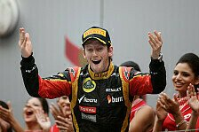 Formel 1 - Grosjean: Konnte nicht auf Nummer sicher gehen