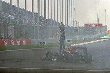 Formel 1 - 25.000 Euro Strafe: Wegen Burnout: Vettel muss zu den Stewards