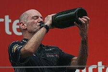 Formel 1 - Ein K�nstler, kein Personalmanager: Newey der geheime Chef bei Red Bull?