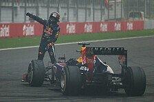 Formel 1 - Vettel: Geldstrafe und Verwarnung wegen Burnout