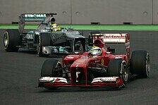 Formel 1 - K�nnen Mercedes herausfordern : Ferrari sagt Mercedes den Kampf an