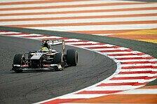 Formel 1 - Topspeeds in Indien: Sauber auf und davon