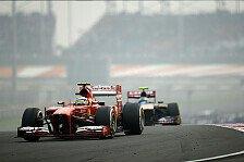 Formel 1 - Felipe Massa setzte sich durch