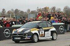 ADAC Opel Rallye Cup - Prominenter Neuzugang: Herbold startet im Opel ADAM Cup