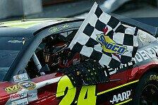 NASCAR - Hochspannung: Kenseth und Johnson punktgleich : Gordon gewinnt in Martinsville