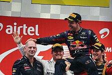Formel 1 - Die Reifen haben uns geholfen: Newey spricht �ber das Erfolgsrezept von RBR