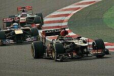 Formel 1 - Schlagabtausch im Funk: Aus dem Weg, verdammt! Kimi vs. Lotus