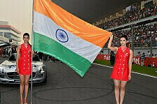 Formel 1 - Bilder: Indien GP - Girls